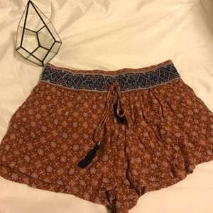 Forever 21 flowy shorts